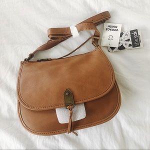 Brown Playa Saddle Bag